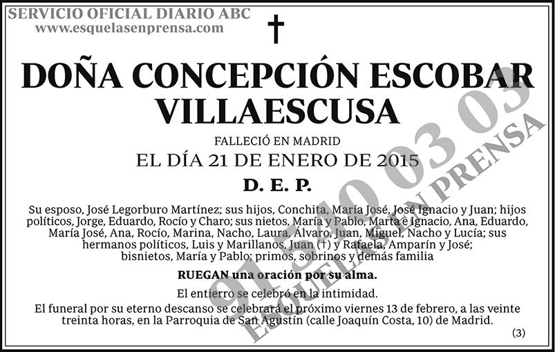 Concepción Escobar Villaescusa